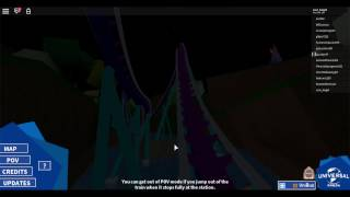 Roblox Gameplay UVS Megaloden Ride