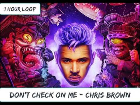 Chris Brown - Don't Check On Me Ft. Justin Bieber, Ink (1 HOUR LOOP)