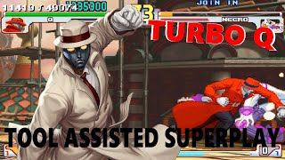 [TAS] - Street Fighter III: 4rd Strike Arranged Edition (TURBO CHEAT) - Q - Super Art 2