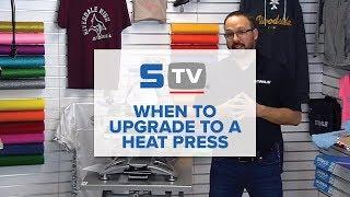 When to Upgrade from a Craft Press to a Heat Press