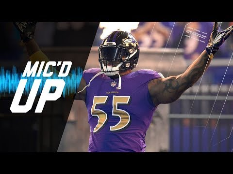 "Terrell Suggs Mic'd Up vs. Dolphins ""Did I Get Credit For That Sack?"" 