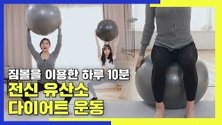짐볼을 이용한 하루 10분 전신 유산소 다이어트 운동 …