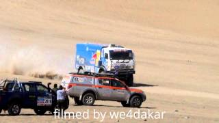 KAMAZ VS IVECO.  NUMBER 1 VS NUMBER 2 OF THE DAKAR 2014