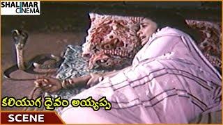 Kaliyuga Daivam Ayyappa Movie || Snake Bites On Rekha || Pandian, Rekha || Shalimarcinema