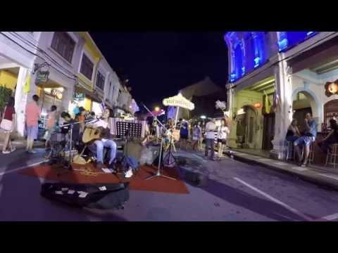 Live music Phuket oldtown Thailand ฟังเพลงเมืองภูเก็ต