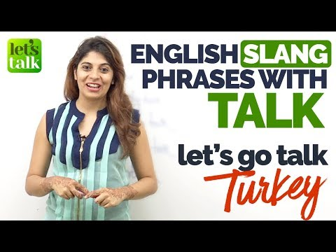 English Slang Phrases & Expressions with 'Talk' - Learn English with Niharika | Free English Lessons
