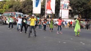 ICC World Twenty20 Bangladesh 2014 - Flash Mob, Southeast University
