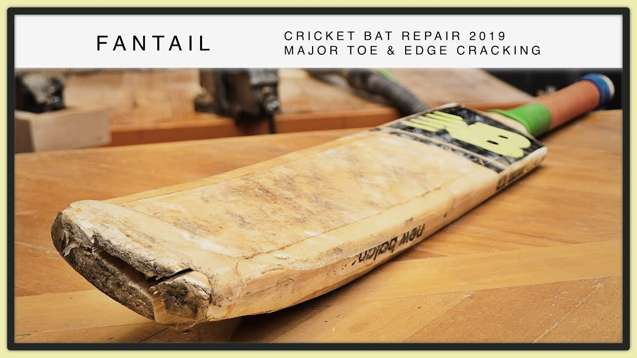 Toe Edge Of A Cricket Bat