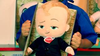 BOSS BABY PARODY and TOYS R FUN gets BOSS BABY toys!