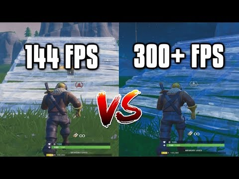 Capped vs Uncapped FPS - Why You Should Cap Your Frames In Fortnite!