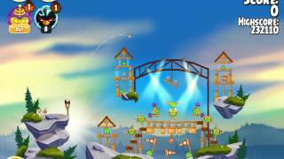 Angry Birds Seasons Summer Camp 1-3