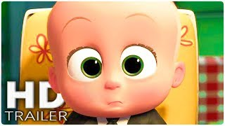 THE BOSS BABY: Back in Business Official Trailer (2018) Alec Baldwin Animation Series HD