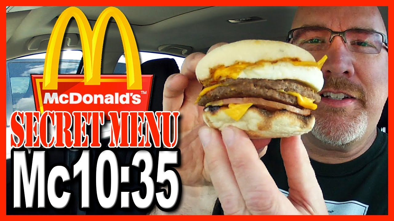 McDonald's ★ Secret Menu Item ★ The Mc10:35 - Review