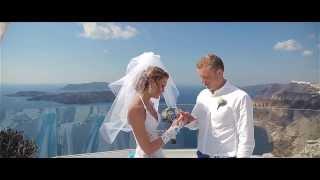 Свадьба на Санторини Santorini Wedding Video Павел и Анастасия свадьба Контаревы(, 2014-02-08T19:12:26.000Z)