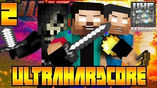 Minecraft UHC Season 4 Pt.2 (Ultra Hardcore Mod) w/NoahCraftFTW & Friends! - LET