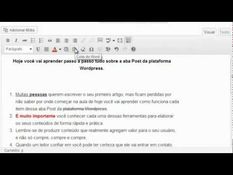 Curso Wordpress   Aba Post Parte II