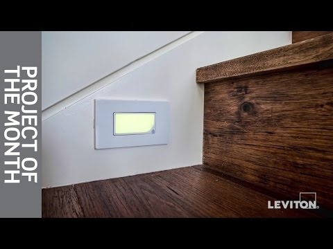 leviton-project-of-the-month:-guidelight-&-illuminated-switches
