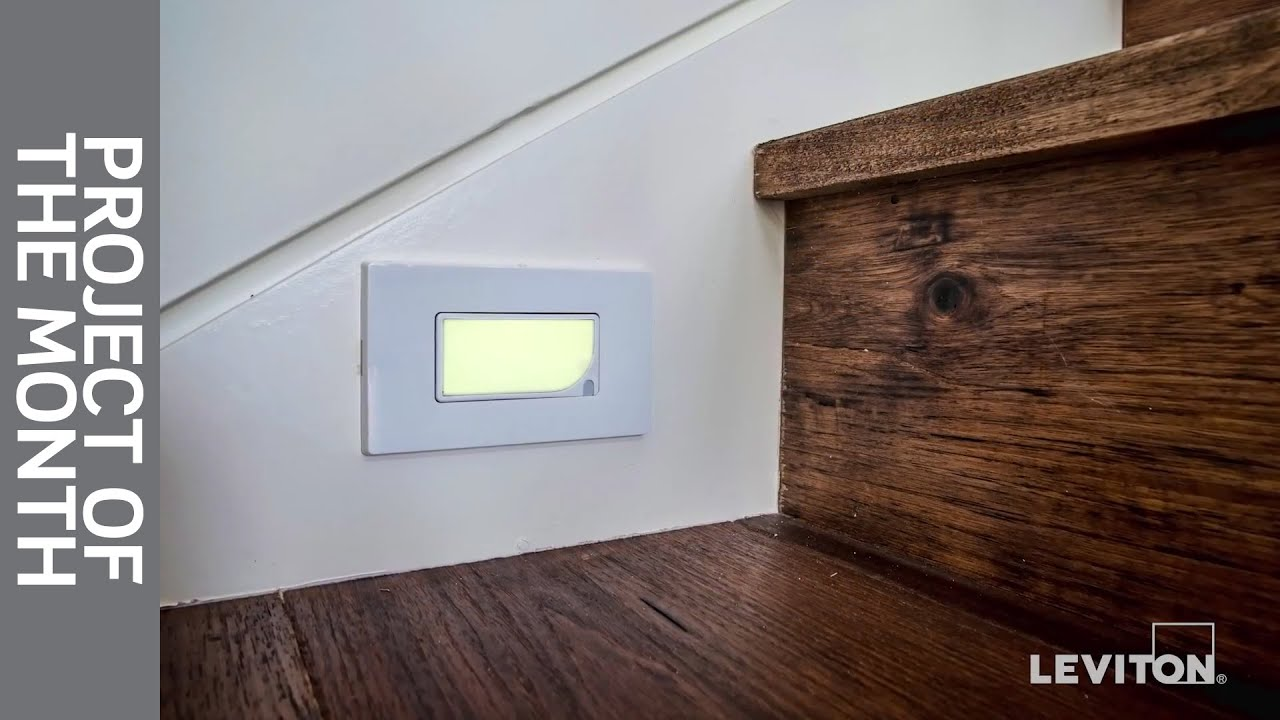 Leviton Project of the Month: Guidelight & Illuminated Switches ...