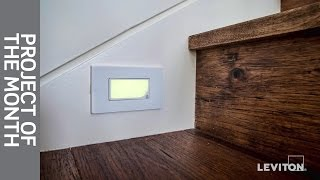 Leviton Project Of The Month: Guidelight & Illuminated Switches