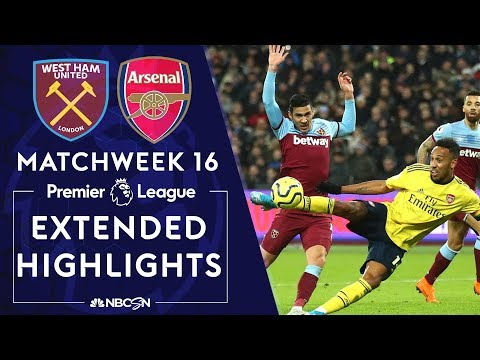 West Ham United v. Arsenal | PREMIER LEAGUE HIGHLIGHTS | 12/09/19 | NBC Sports