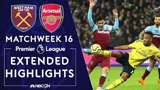 West Ham United v Arsenal  PREMIER LEAGUE HIGHLIGHTS  120919  NBC Sports