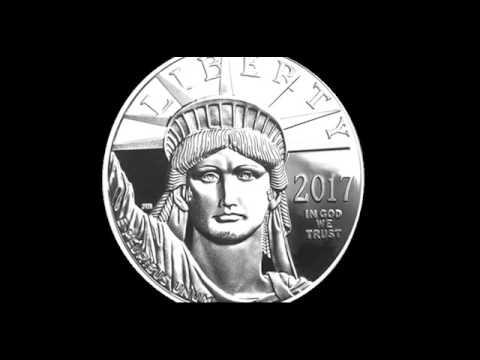 w//Box /& COA 20th Anniversary 2017-W 1 oz Platinum American Eagle Proof Coin