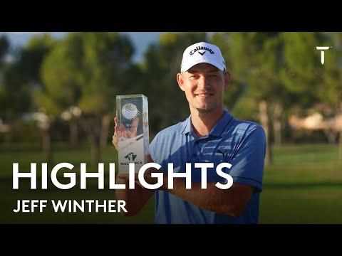 Jeff Winther's final round highlights | Mallorca Golf Open 2021 | 2021 Mallorca Golf Open
