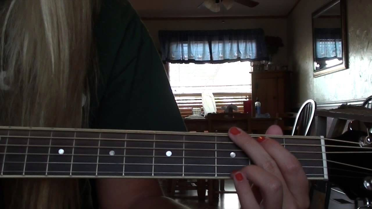 Fall For You Secondhand Serenade Easy Guitar Tutorial Youtube