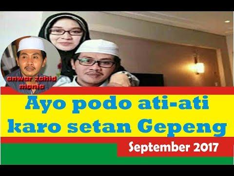 KH Anwar Zahid Terbaru ~ Ayo podo ati-ati karo setan gepeng