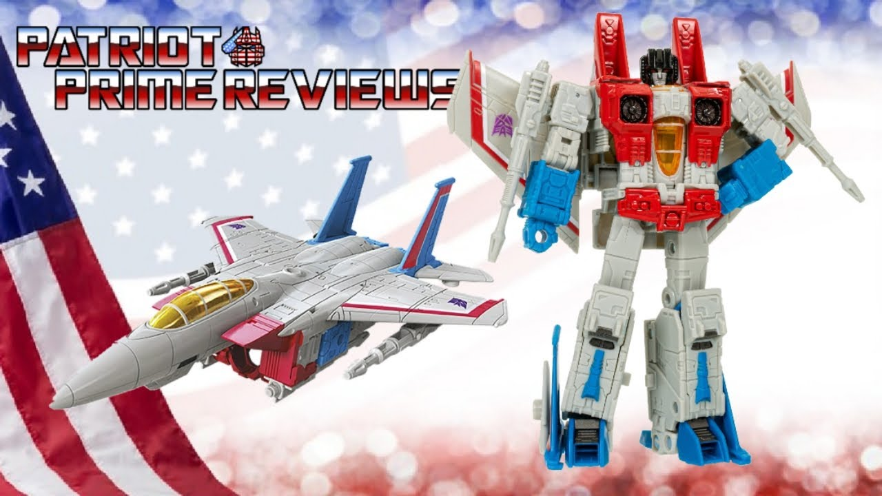 Patriot Prime Reviews Earthrise Starscream