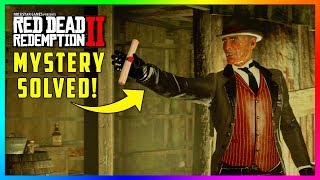 The REAL Reason Why The Pinkertons Were Able To Find The Gang's Hideout In Red Dead Redemption 2!