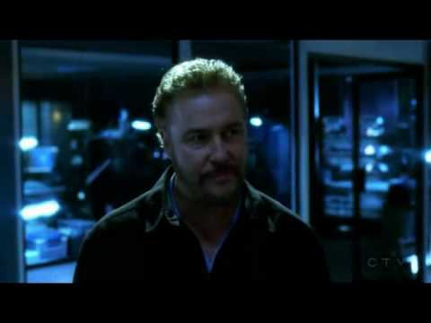 The last walk through the lab for Gil Grissom