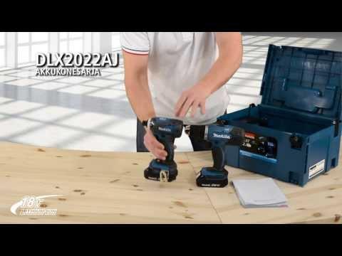 p71140 makita 18v lxt dhp458rte drill driver dtd146 combo kit 2 batteries charger. Black Bedroom Furniture Sets. Home Design Ideas