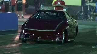 AXE MOTORSPORT RACING N/A 20B RX7 TESTING AT SYDNEY DRAGWAY 6.3.2014