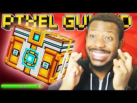 THE BEST SUPER CHEST OPENING! L Pixel Gun 3D