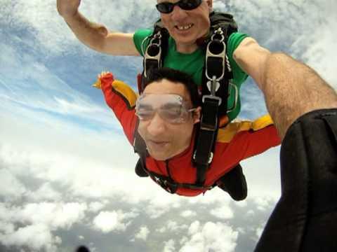 Sherry Skydiving Sydney 26.1.2012