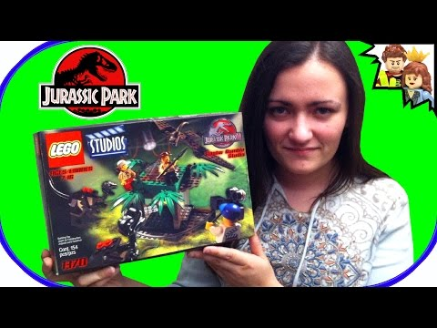LEGO Jurassic Park III Raptor Rumble 1370 Review
