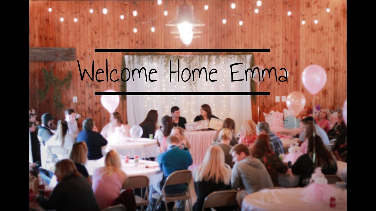 Emmas Baby Shower Welcome Home Party
