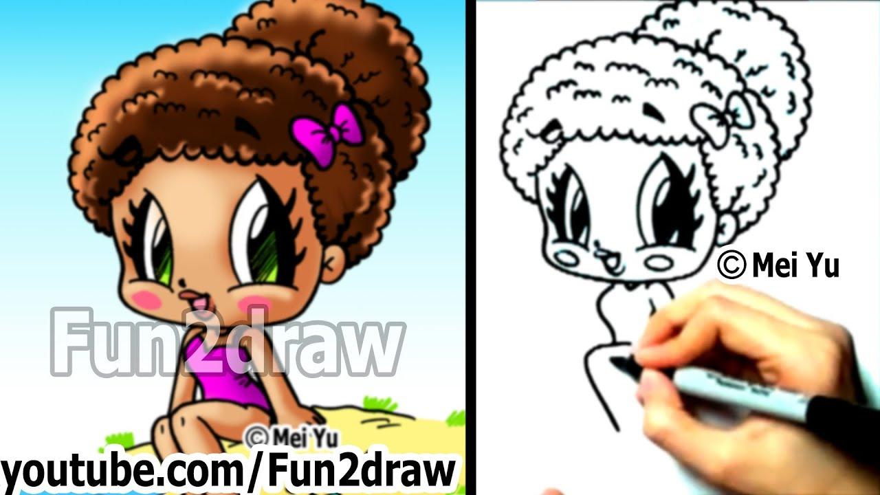 Cute Animals Playing Soccer Wallpaper How To Draw Chibi Characters Cute Beach Girl Fun Things