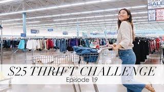 bychloewen $25 Thrift Challenge - Episode 19 // Everything was on sale!