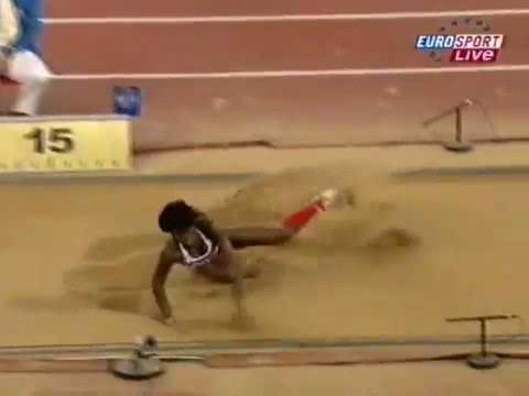 Yargelis Savigne 15.05 triple jump Olympics 2008