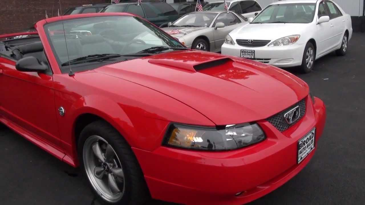2004 ford mustang 4 6 gt convertible 40th anniversary. Black Bedroom Furniture Sets. Home Design Ideas