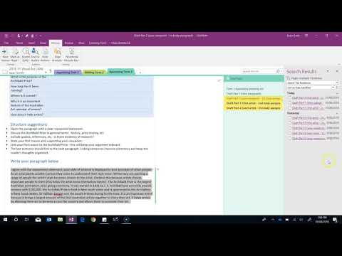 OneNote Class Notebooks - Reviewing student work two ways