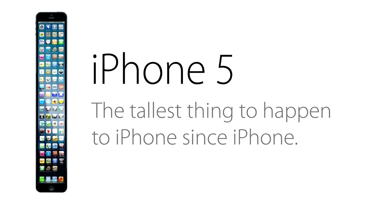 how tall is a iphone 5 iphone a taller change 18527