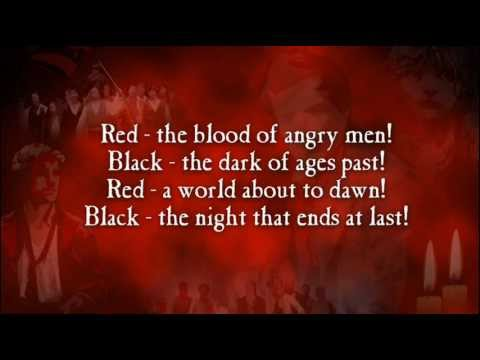 Red and Black (Les Miserables - instrumental)