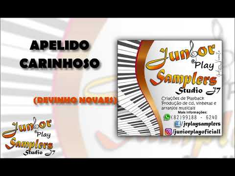 APELIDO CARINHOSO - DEVINHO NOVAES - PLAYBACK DE (JÚNIOR PLAY SAMPLERS)