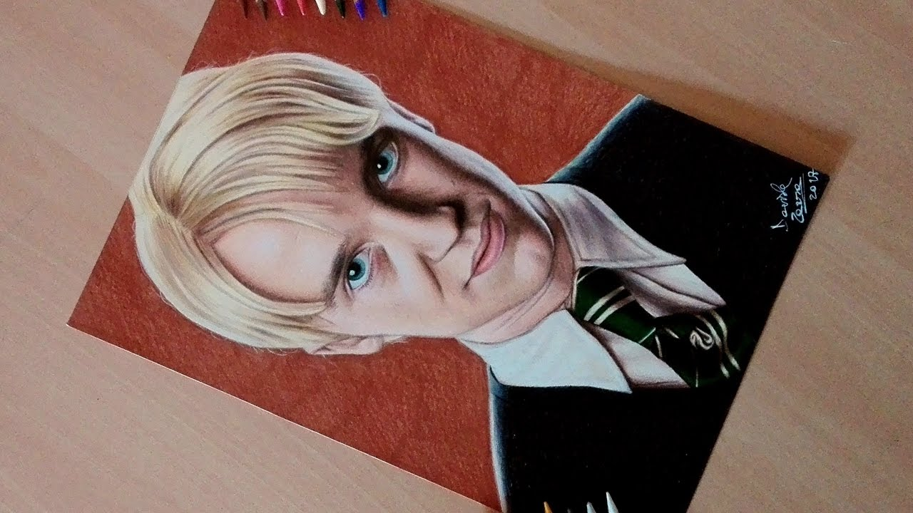 Drawing Draco Malfoy From Harry Potter Youtube