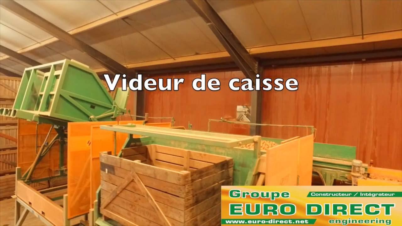 Caisse De Pomme Vide videur de caisse auger vc240 tel-a box tipper