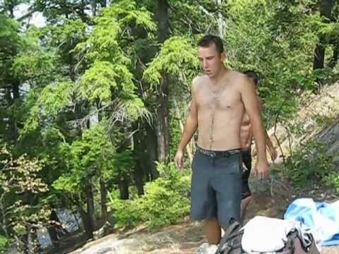 Meech Lake Cliff Jumping