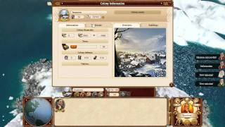 Commander: Conquest of the Americas - Tutorial #1 Colonies